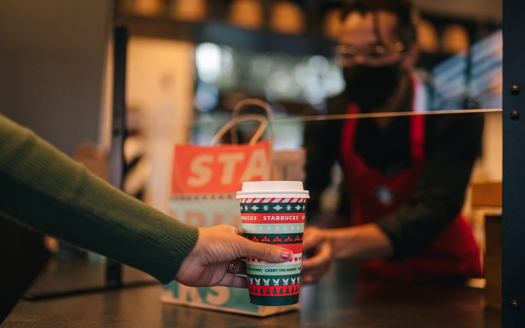 Starbucks kicks off its holiday advertising and introduces holiday-themed cups as it looks to rebound