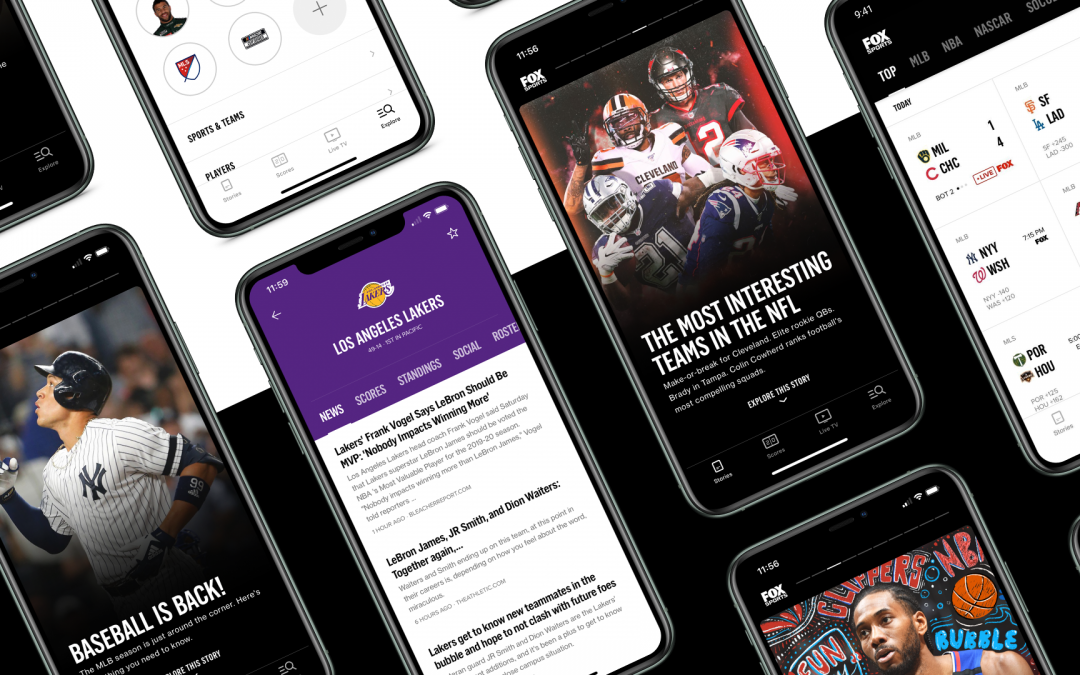 Fox Sports adds new features, 'Bonus Cams' to its app