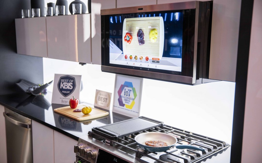 GE sets the stage for smart cooking