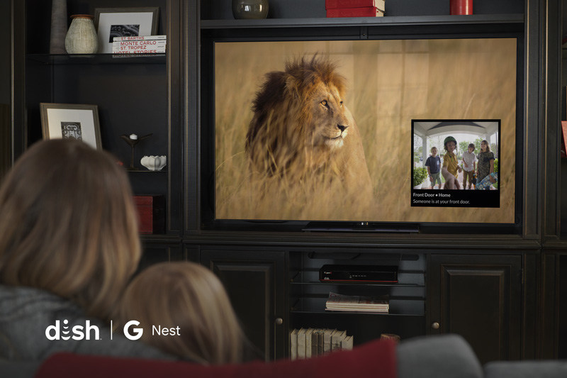 DISH enables live viewing of doorbell video on TV